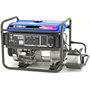 Yamaha EF6600DE, 6000 Running Watts/6600 Starting Watts, Gas Powered Portable Generator, CARB Compliant
