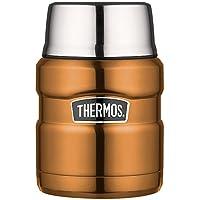 Stainless King Food Flask, Gun Metal, 470 ml