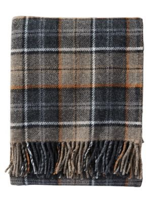 Pendleton Easy Care, Smoke Throw Blanket - Made in the USA Machine washable Made of 100Percent wool - blankets-throws, bedroom-sheets-comforters, bedroom - 41rsxanXj7L -