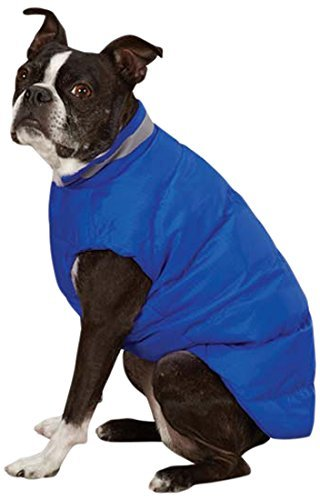 Puffy Vest North Paw - Casual Canine North Paw Vibrant Puffy Vest for Dogs, 16