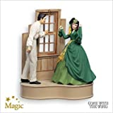 SCARLETT AND RHETT GONE WITH THE WIND 2007 HALLMARK KEEPSAKE ORNAMENT QXI4177