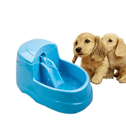 NACOCO Pet Water Fountain Dog Electric Drinking Bowl Cat Automatic Fresh Waterfall Dispenser Kitten Fun With Drinking Water in Heat Summer