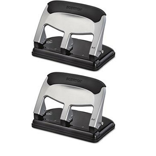 Bostitch EZ Squeeze 40-sheet Hole Punch - 2 Pack by Bostitch Office (Image #1)