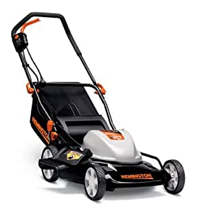 Remingon RM212A  12-Amp 19-Inch 3-in-1 Corded Electric Push Lawn Mower