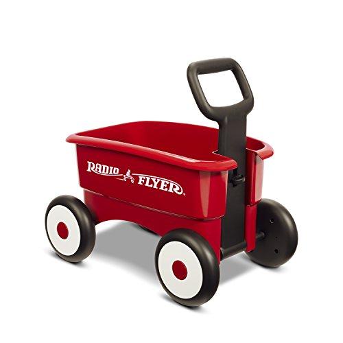 41rsyFJtiXL - Radio Flyer My 1st 2-in-1 Wagon, Red