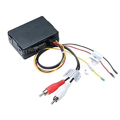 XTRONS Optical Fiber Head Unit Replacement Decoder Box for Mercedes-Benz E/CLS/SLK/SL/CLK Series: Car Electronics