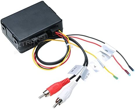 XTRONS Optical Fiber Head Unit Replacement Decoder Box for Mercedes-Benz E//CLS//SLK//SL//CLK Series