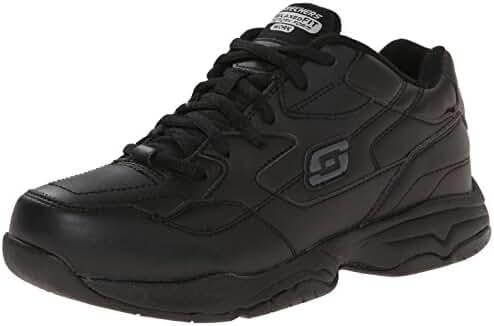 Skechers for Work Women's Albie Relaxed-Fit Slip Resistant Walking Shoe