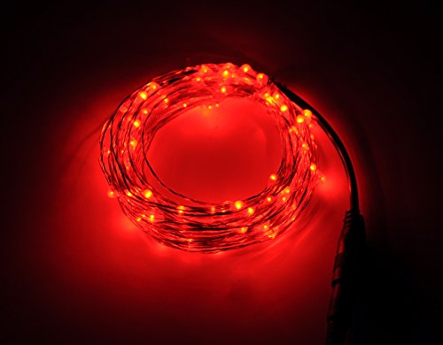 100 Red Led Lights - 8