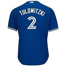 Toronto Blue Jays 2017 Cool Base Replica Troy Tulowitzki Alternate MLB Baseball Jersey