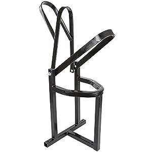 Black Widow MSW-1-V2 Black Dirt Bike Wheel Shoe Stand, 1 Pack