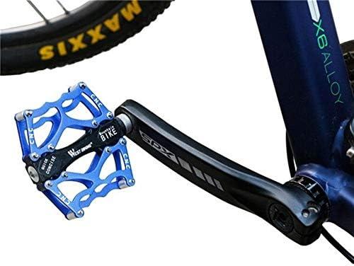 LnNyRf Teniendo Pedales Oeste Ciclismo Oro Ultraligero de Aluminio ...