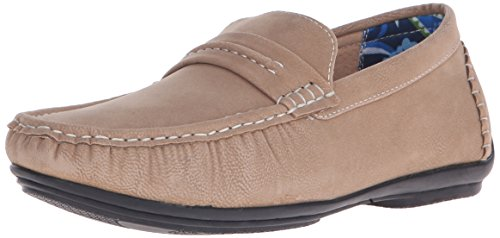 Stacy Adams Mens Park Slip-on Loafer Taupe