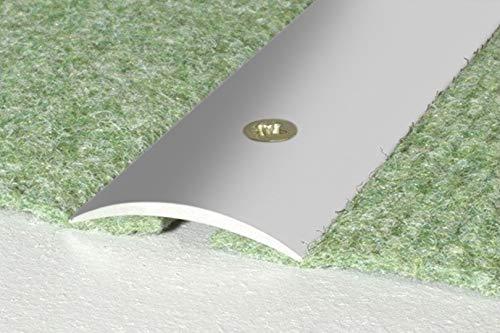 Aluminum Profile, durchgangsprofil Transition Trim Profile Screw-In 30x5mm, A03 – silverware, 0.93 Meter