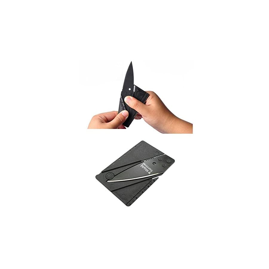 Gifts for Men Gadgets (Set of 2) Credit Card Size Tool and Knife