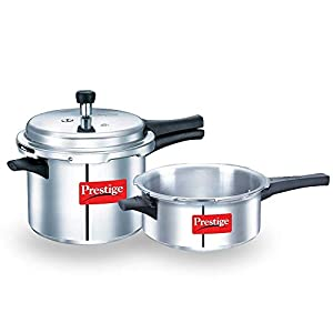 Prestige Special Promotion Pack – Cooker Combo 2L + 3L (with one lid)