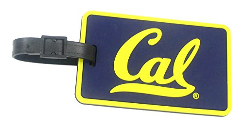California Golden Bears - NCAA Soft Luggage Bag Tag (Bears Luggage Tag)