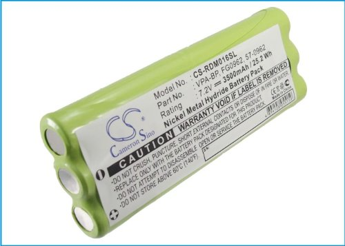 Cameron Sino 3500mAh Ni-MH High-Capacity Replacement Batteries for Rover Instruments ST-4, DM16C, DM16Q, fits Rover BAT-PACK-ST4-DM16,HD ProTab,HD Pro,HD Touch,HD Flash,HD Compact,HD Light,HD One...