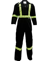 Viking CSA Striped Safety Coveralls