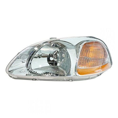 Headlight Headlamp Driver Side Left LH for 96-98 Honda Civic