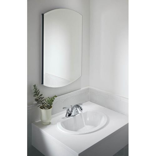KOHLER K-2699-4-0 Bryant Oval Self-Rimming Bathroom Sink with 4-Inch Centers, White