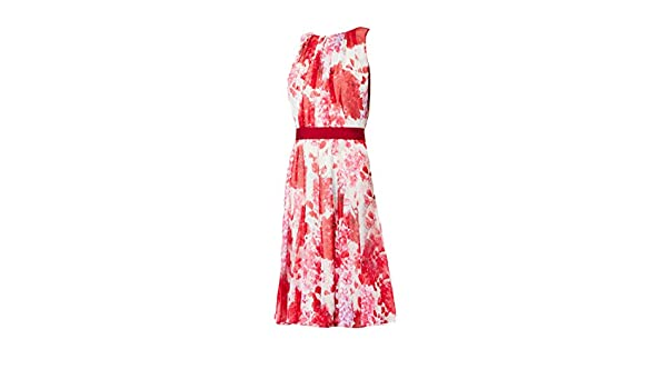 433996cc314 Pianoforte by Max Mara Women s Deserto Silk Georgette Dress Sz 14 Fuschia  at Amazon Women s Clothing store
