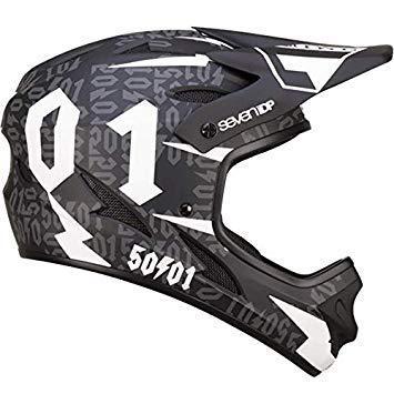 7iDP M1 Helmet 50:01 Black/White S