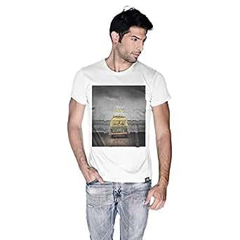 Creo Beach Van T-Shirt For Men - L, White