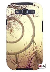 Cool Painting Aztec Mayan Vintage Dream Catcher Unique Quality Soft Rubber Case for Samsung Galaxy S4 I9500 - White Case