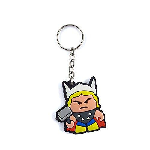 Chaveiro Emborrachado Cute Thor