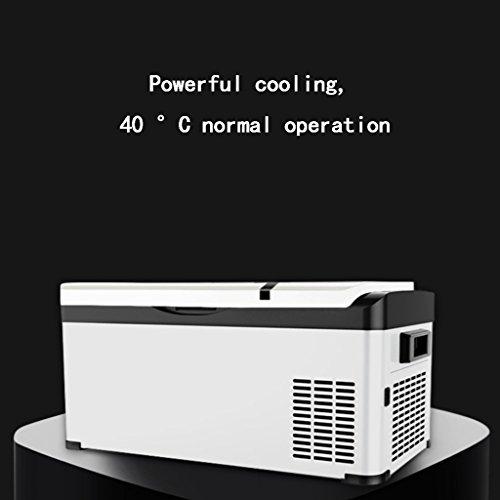 ALUS- Car refrigerator Refrigeration Compressor 12V-24V Mini Freezer Small  Car Home Dual-use Refrigerator Freezer (Size : Car)