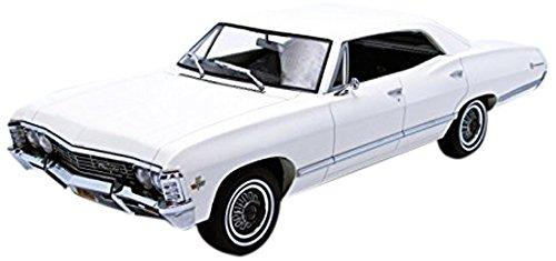 Modellauto 1:18 1967 Chevrolet Impala Sport Sedan weiß Grünlight Artisan
