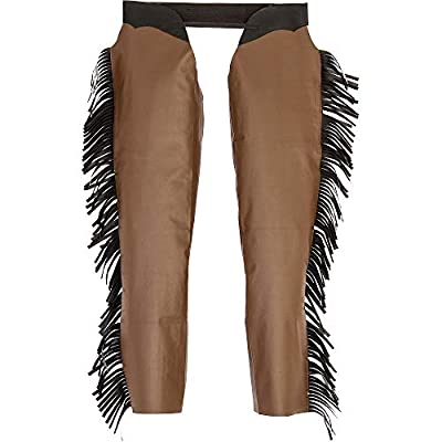 AMSCAN Cowboy Chaps Halloween Costume Accessories for Men, Standard: Toys & Games