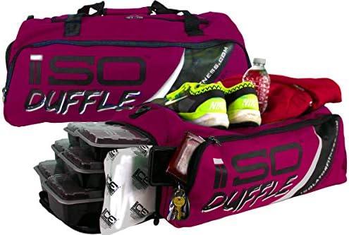 Amazon.com: Meal Prep Duffle 4 Meal ISODUFFLE Gym Bag Meal ...