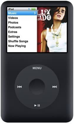 Amazon Com Apple Ipod Classic 80gb Black 6th Generation Discontinued By Manufacturer Renewed Home Audio Theater
