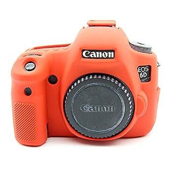 Zakao - Funda para cámara Digital Canon EOS 6D (Silicona, Ligera ...