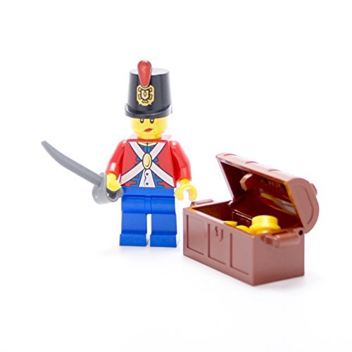 LEGO Collectible Minifigures 2011 Series IMPERIAL SOLDIER WITH TREASURE CHEST (Loose Figure)
