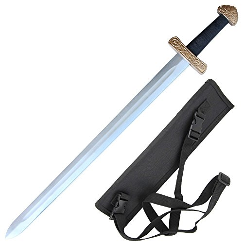 Foam Viking Norse Legacy Sword with Sheath (Mens Crusader Knight Costume)