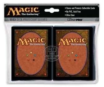 Ultra Pro The Magic the Gathering (MTG) Card Back Deck Protectors (80 Sleeves) MAGIC CARD BACK! 82074 / 82801