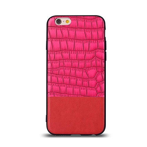 """HYAIT® For IPHONE 6 PLUS 5.5"""" Case[Crocodile][Shockproof] Dual Layer Hybrid Armor Rugged Plastic Hard Shell Flexible TPU Bumper Protective Cover-BAN03"""