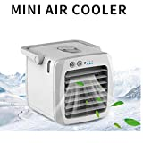Inverlee USB Charging air Conditioning Fan Mini Desktop Cooler Portable Small air Conditioner (A)