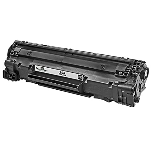 Speedy Inks - Remanufactured Replacement for HP CB435A HP 35A Black Laser Toner Cartridge for use in LaserJet P1005 & LaserJet (Laser Jet P1006 Toner)