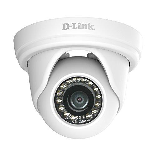 D-Link Pan and Tilt Indoor/Outdoor 1080p Network Surveillance Camera White DCS4802E