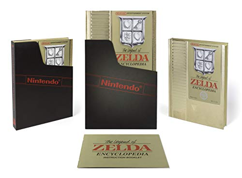 The Legend of Zelda Encyclopedia Deluxe Edition (Legend Of Zelda Ocarina Of Time 3ds Guide)