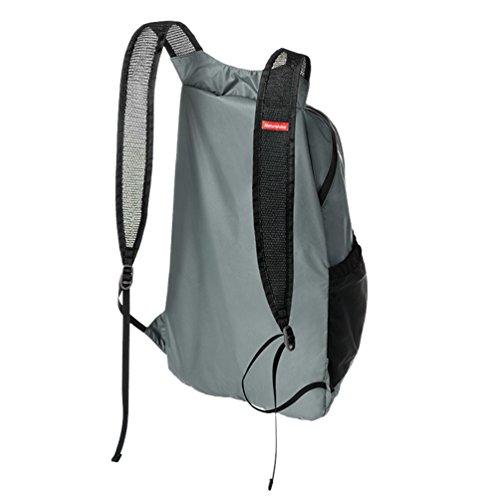 Vbiger Climbing Rucksack Leichte Radfahren Daypack Reise Schultern Bag Outdoor Daypack Grau