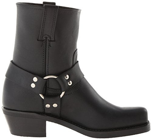 Femme Frye 8r Harness 77455 Black Boots wxU1RpHUq