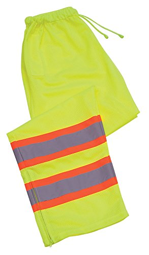 ERB 65025 S210 Class E Pants, Hi-Viz Lime, Large by ERB (Image #1)