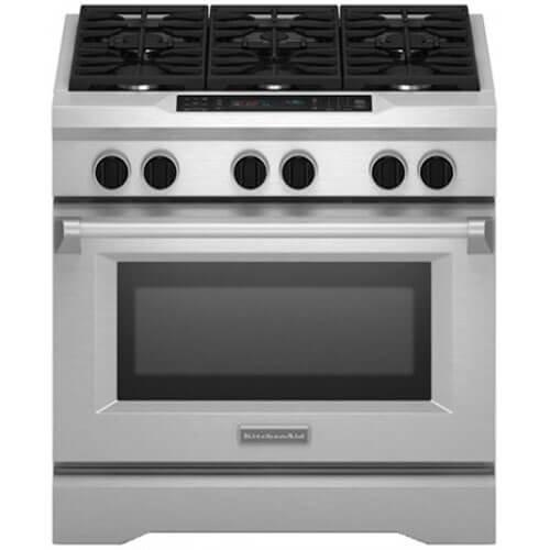 Kitchenaid KDRS467VSS Commercial Style Dual Range product image