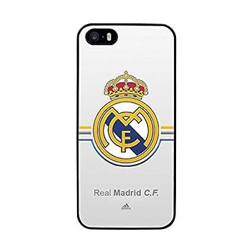 FUNDA CARCASA PARA IPHONE 5 5S DISEÑO REAL MADRID 6 BORDE ...