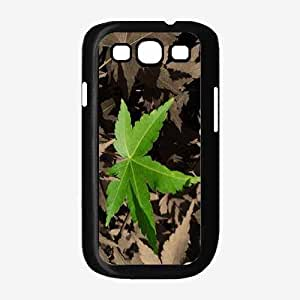 Green Leaf - Phone Case Back Cover (Galaxy S3 - Plastic)
